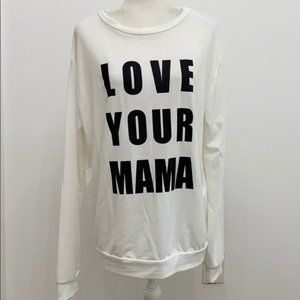 Love Your Mother Sweatshirt,Fantastic Fawn, Small